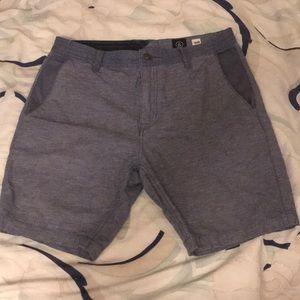 VOLCOM light navy board shorts